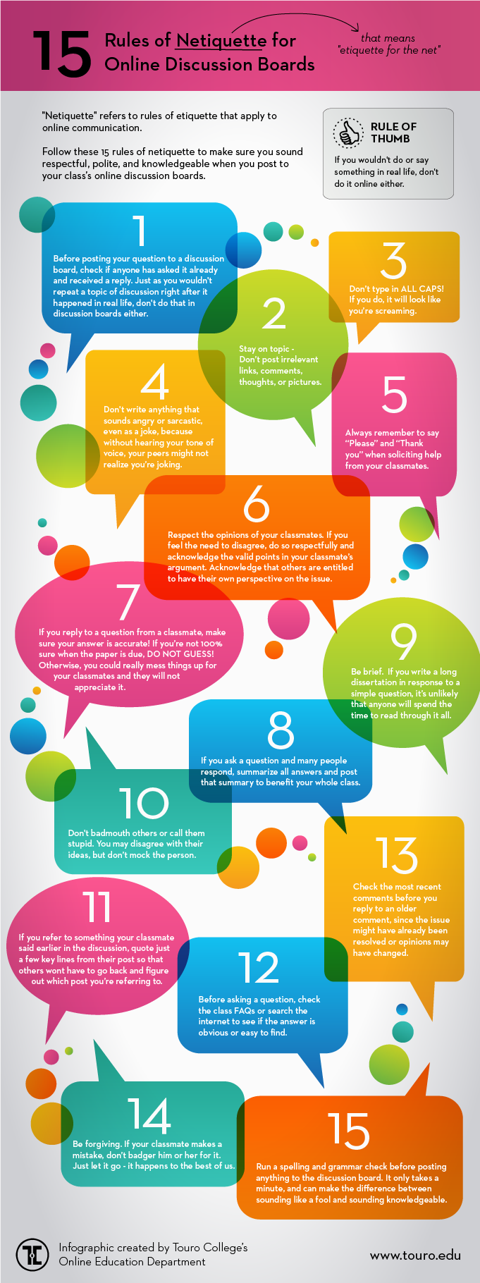 15 Tips For Online College Discussion Boards