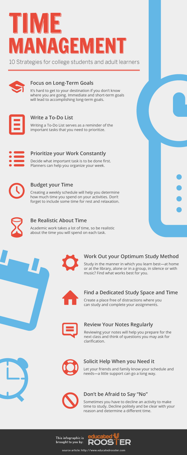 10 Time Management Tips For College Students