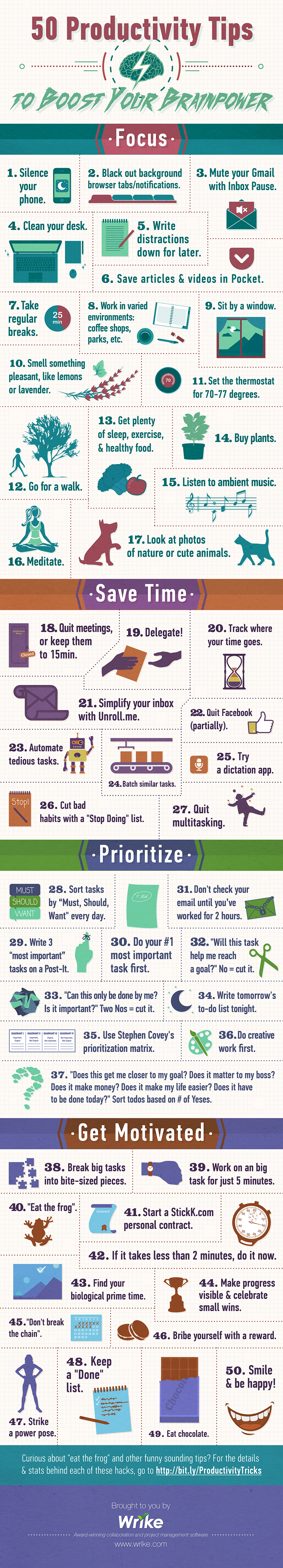 50 Productivity Boosters For Students