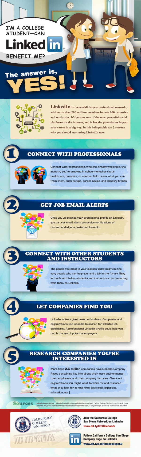 5 Ways LinkedIn Can Benefit College Students