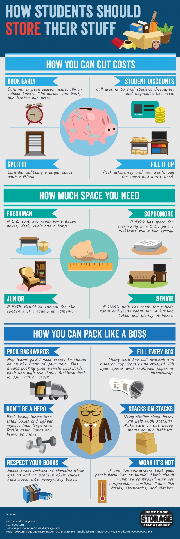 14 Tips On How Students Can Store Their Stuffs