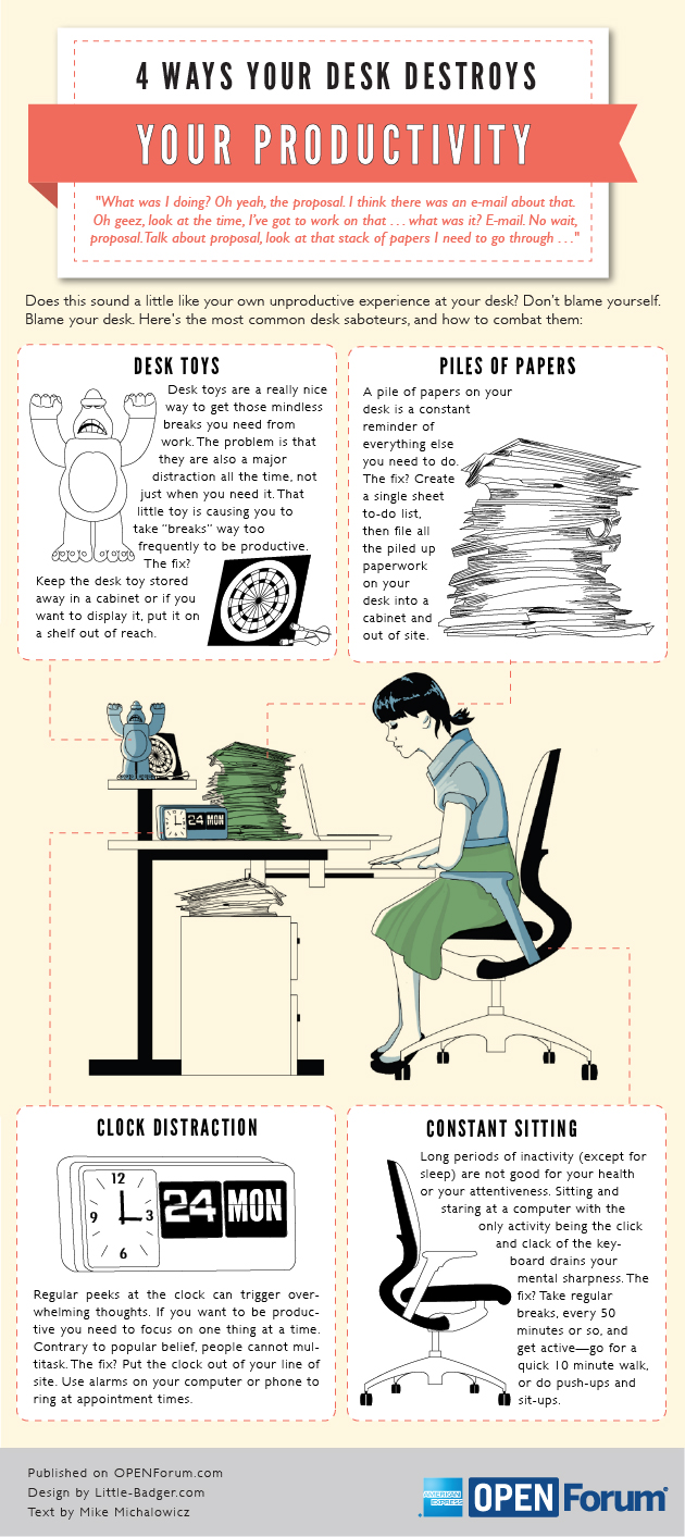 4 Distractions On Your Desk You Didn't Know About