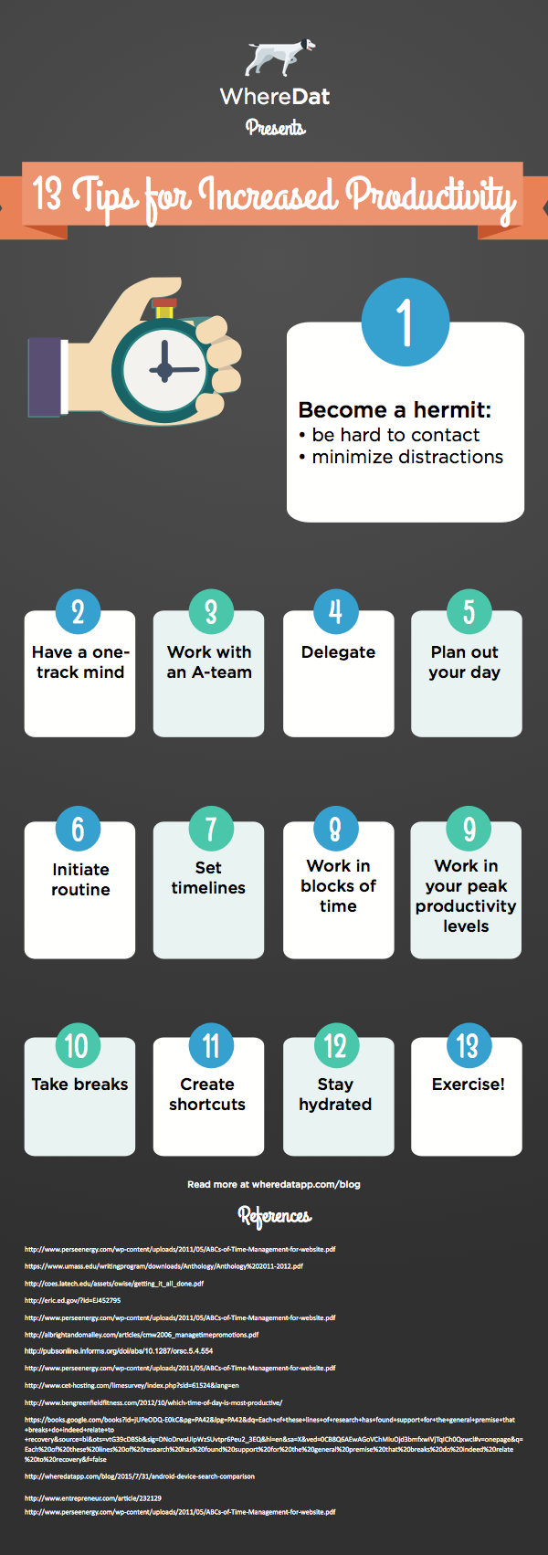 13 Tips To Increase Your Productivity