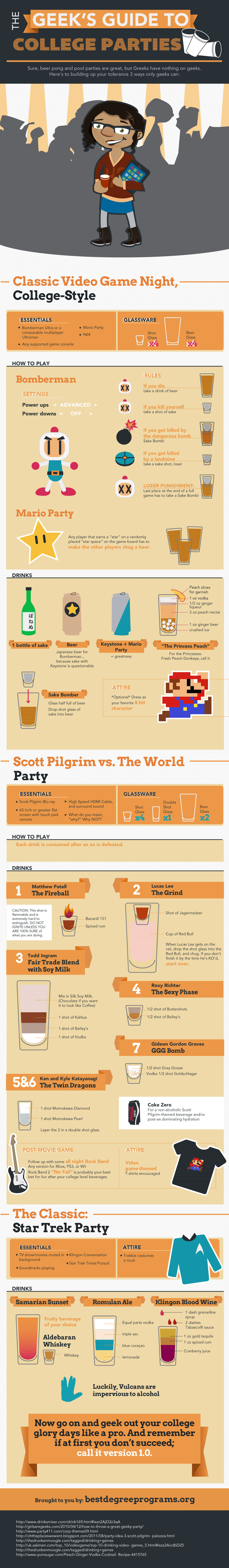 How To Party In College For Geeks