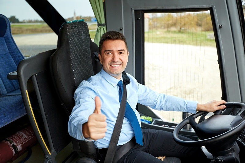 pros and cons of being a Transit and Intercity Bus Driver