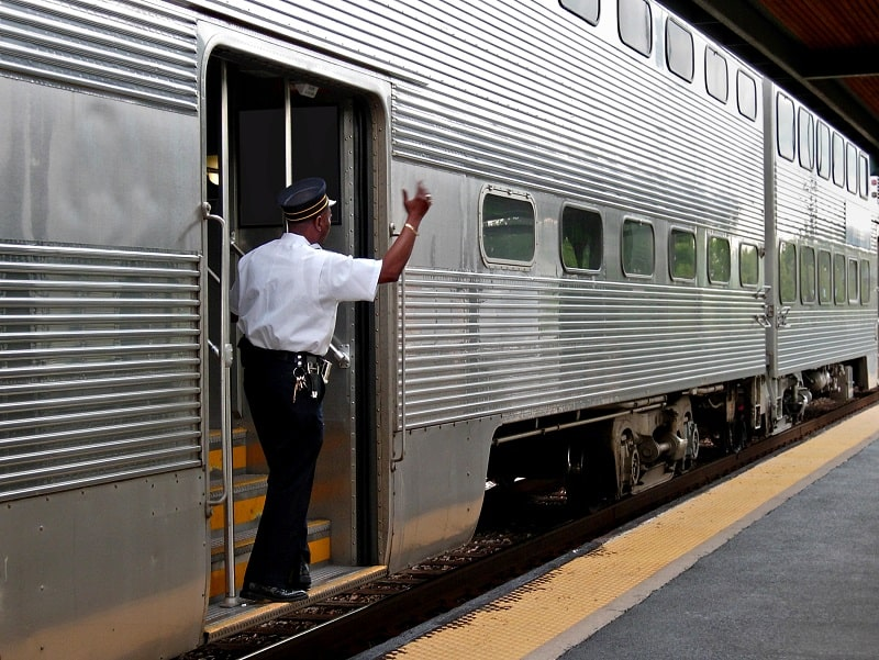 pros and cons of being a Railroad Conductor and Yardmaster