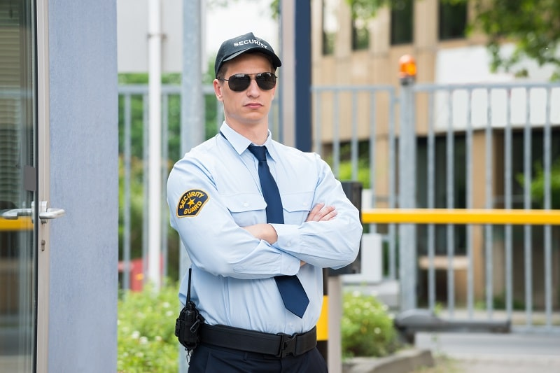 pros and cons of being a Security Guard